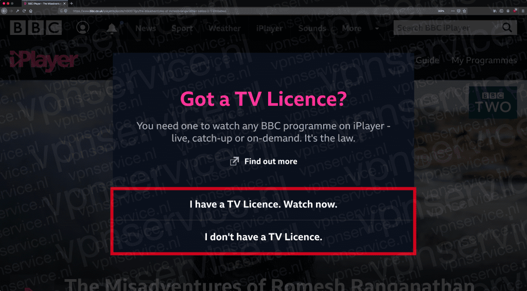 BBC iPlayer Got A TV License