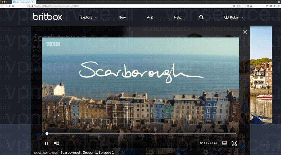 Britbox in Nederland en Belgie kijken