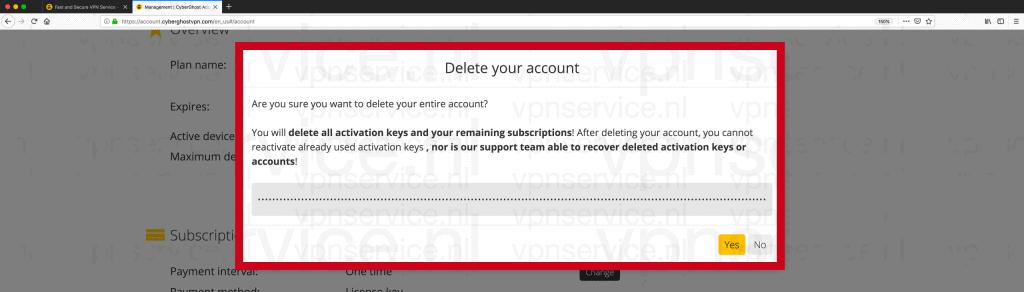 """Voer je wachtwoord of PUK in en druk op """"Yes""""."""