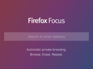 Firefox Focus nu ook verkrijgbaar voor Android