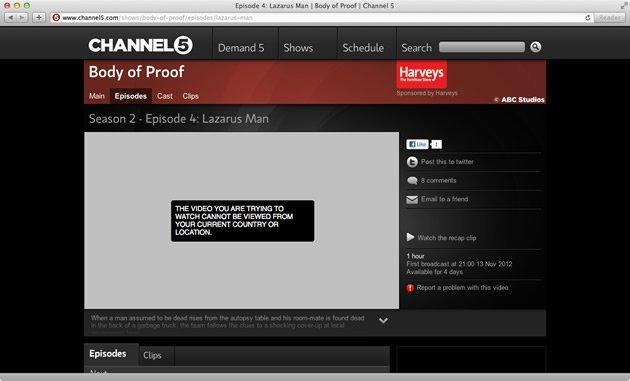 geoblock-uk-verenigd-koninkrijk-channel-5