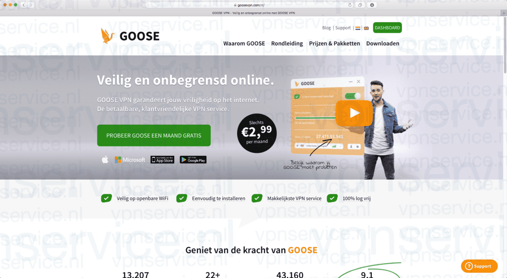 GooseVPN Korting