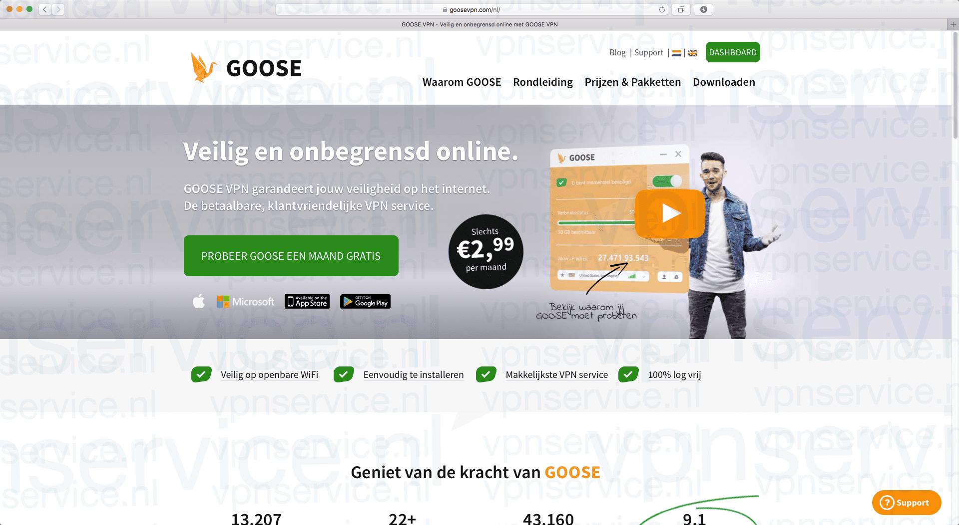 Goose VPN Korting