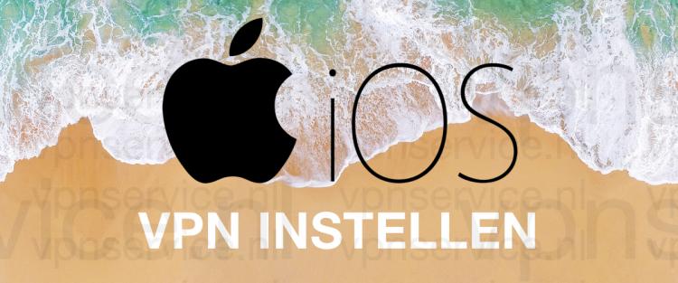 iOS VPN Instellen
