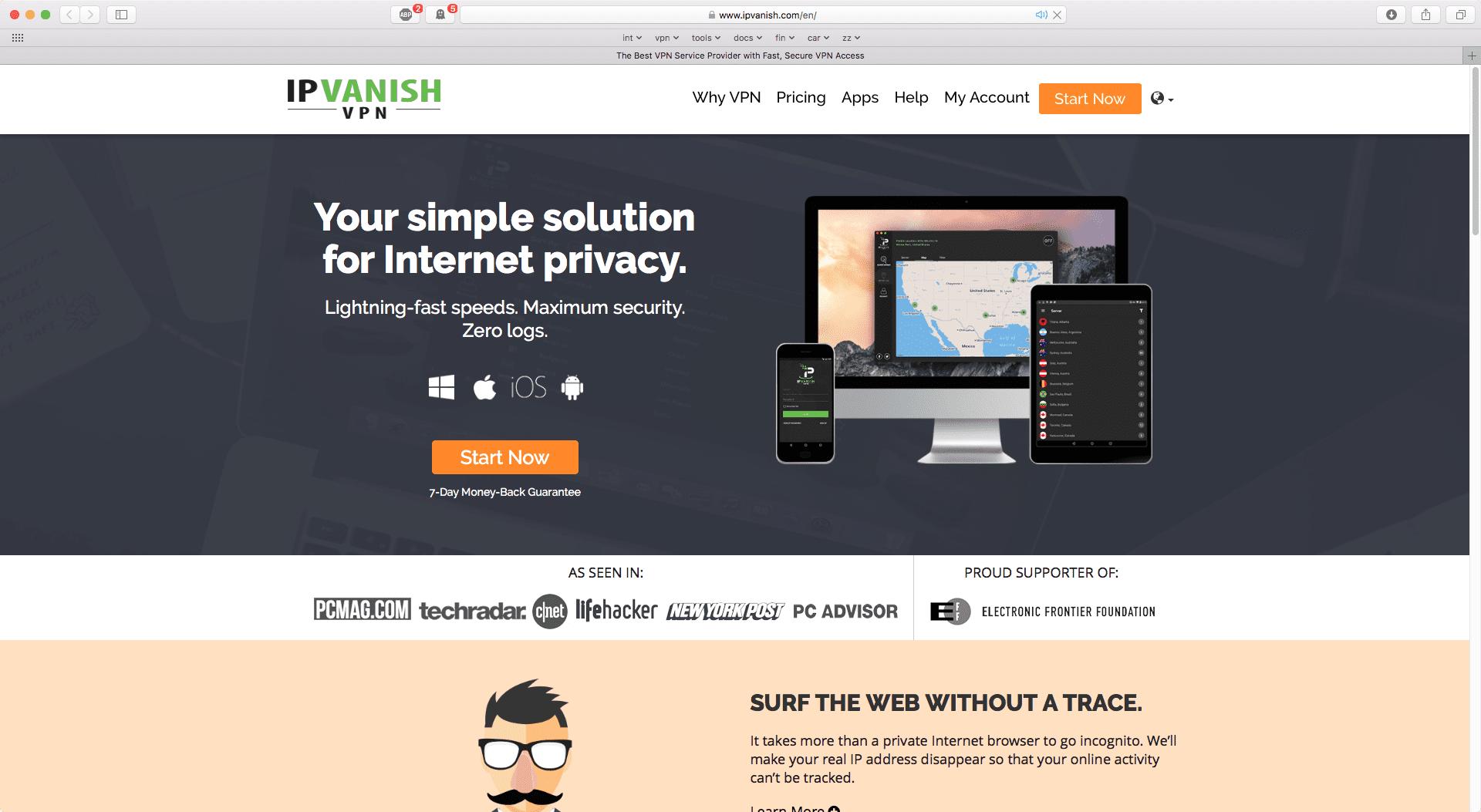IPVanish Korting