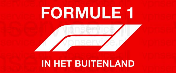 Live Formule 1 kjiken in het Buitenland