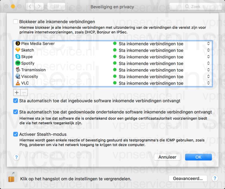 Stealth modus op Mac voor betere privacy