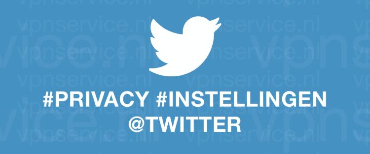 Twitter Privacy Instellingen