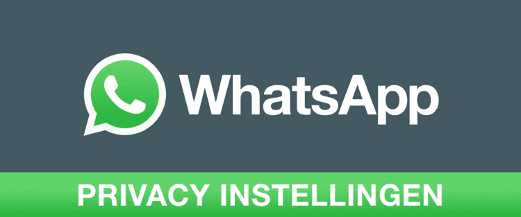 WhatsApp Privacy Instellingen