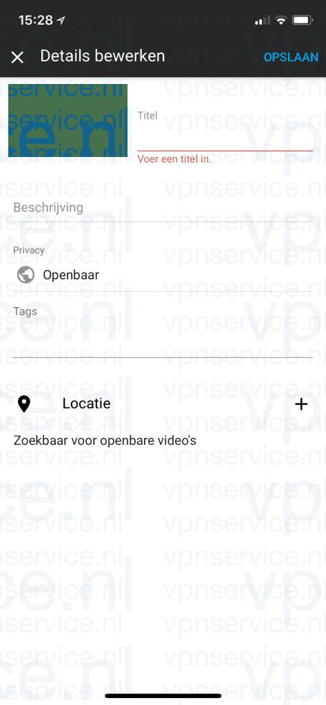 Youtube iOS: Privacy Instelliingen per video aanpassen