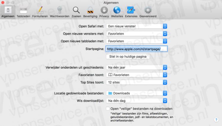 Safari Privacy Instellingen Openen