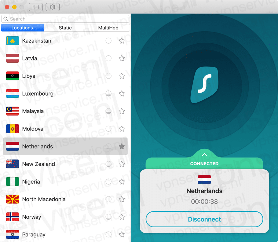 Ziggo Go met Surfshark VPN
