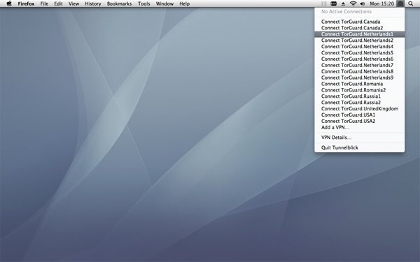 TorGuard Review - Anoniem downloaden met VPN servers op Mac OSX