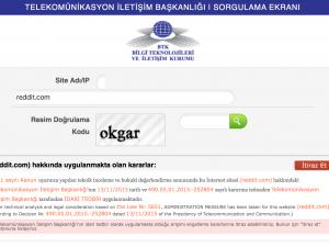 Overheid Turkije blokkeert Reddit
