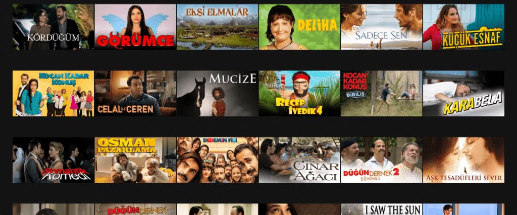 Turkse Netflix Regio met VPN