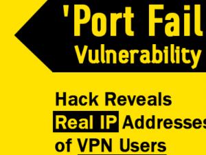 """""""Wrong Way"""" lek laat echt IP-adres VPN gebruikers zien"""