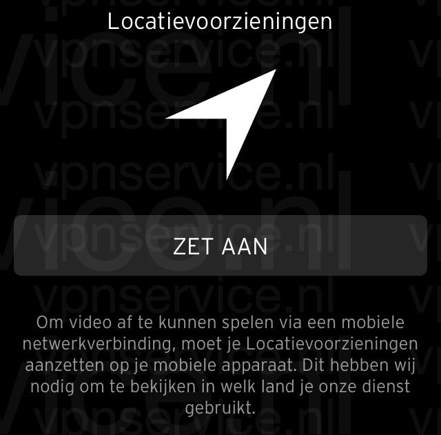 Ziggo Go buitenland locatievoorzieningen blokkade omzeilen